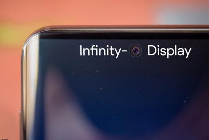 Galaxy S10 ekrana gömülü kamera