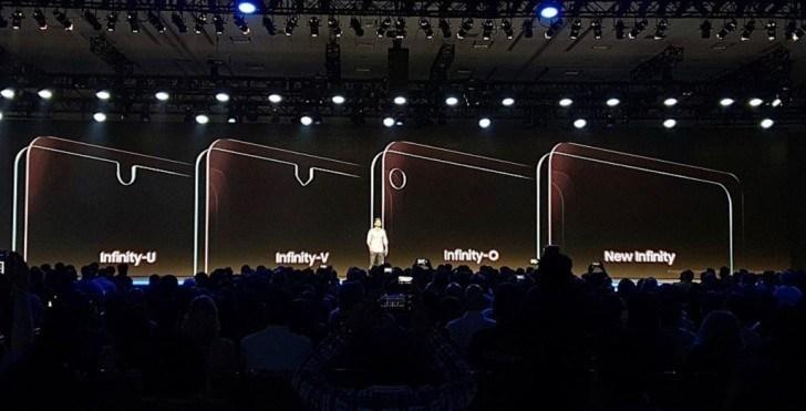 Samsung Galaxy S10 ekran tasarımı