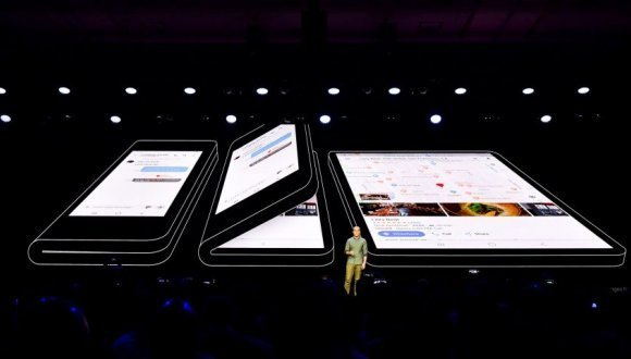 Samsung katlanabilir telefon Galaxy F