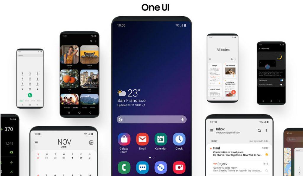 Samsung one uı güncellemesi alacak cihazlar