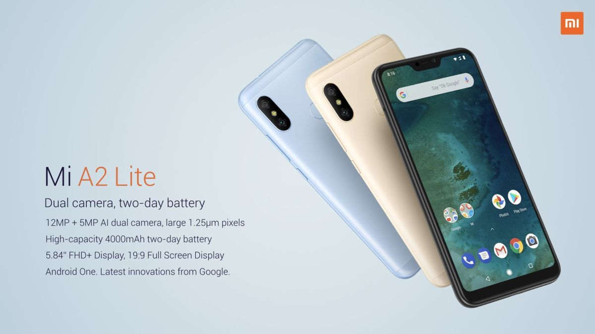 Xiaomi Mi A2 Lite Android Pie