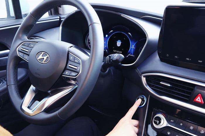 2019 Hyundai Santa Fe parmak izi okuyucusu