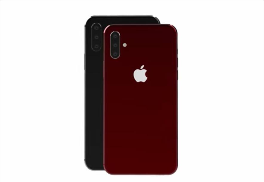 2019 iPhone XL tasarımı