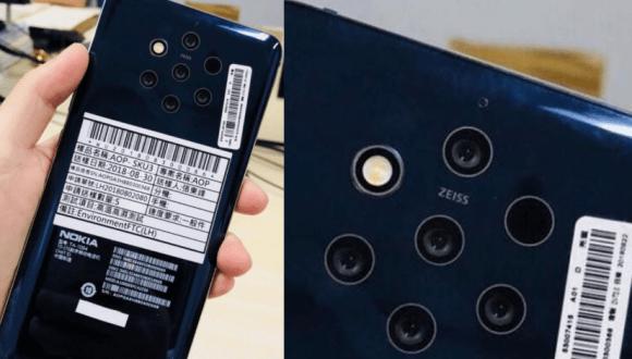 5 kameralı Nokia 9 özellikleri