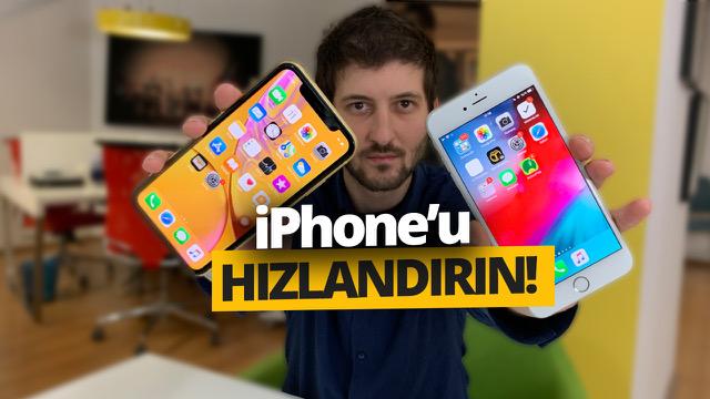 iPhone RAM temizleme, iOS RAM temizleme