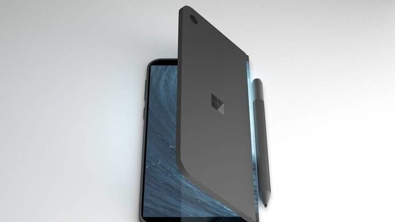 Microsoft katlanabilir telefon furyasına katılıyor! SDN-1