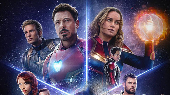 Avengers: End Game karakter posterleri