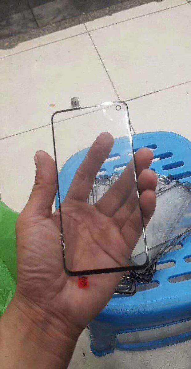 Galaxy S10 ekran tasarımı