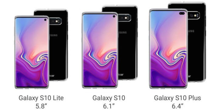 Galaxy S10 ekran boyutları