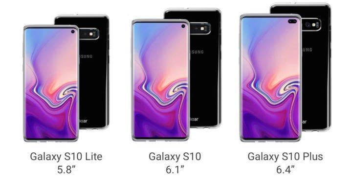 Galaxy S10 tasarımı