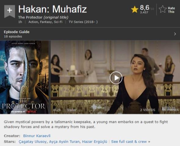 The Protector IMDB puanı