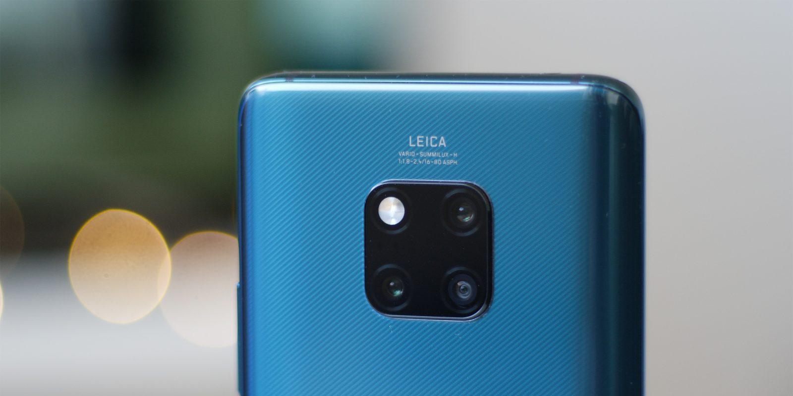 Huawei Mate 20 Pro kamerası