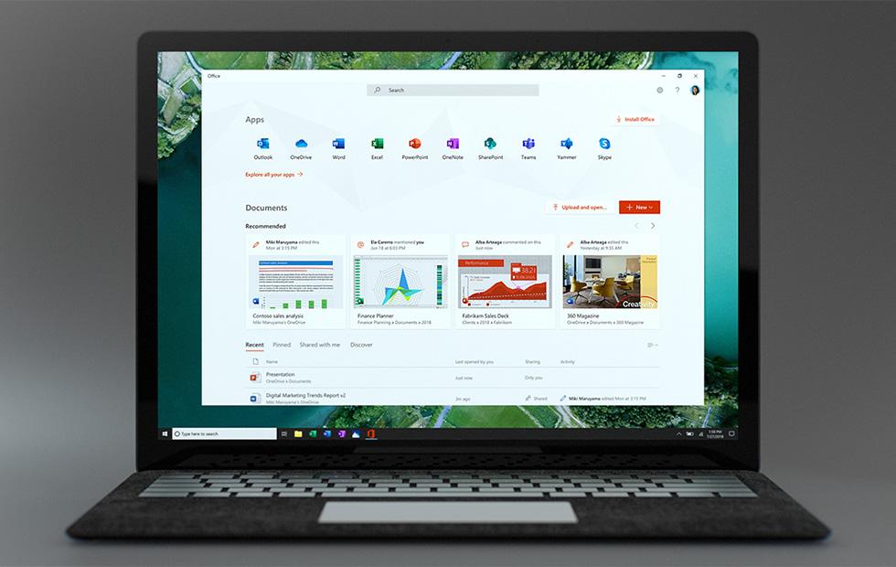 Windows 10 Microsoft Office My Office