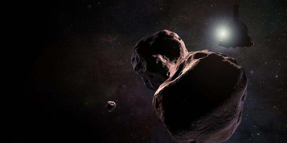 NASA New Horizons uzay aracı
