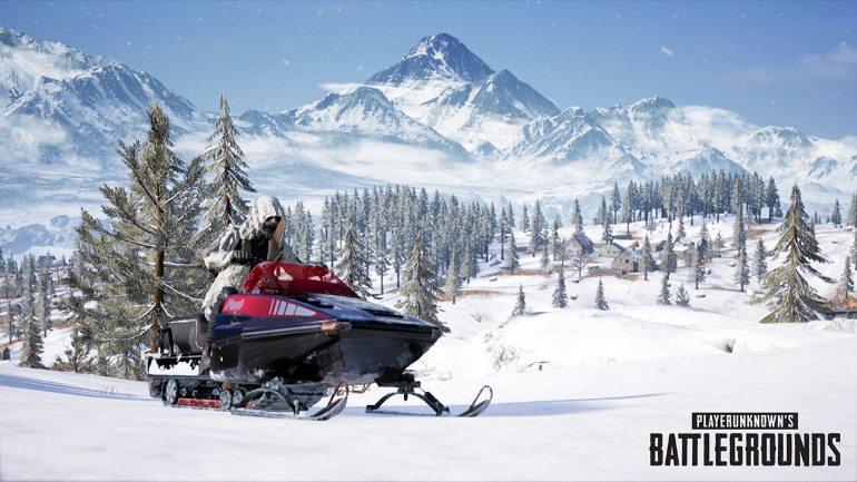 PUBG Mobile kar haritası Vikendi