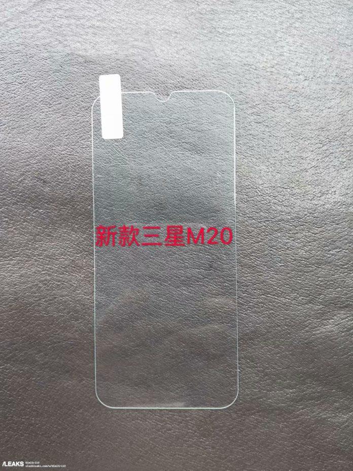 Samsung Galaxy M20 ekran tasarımı