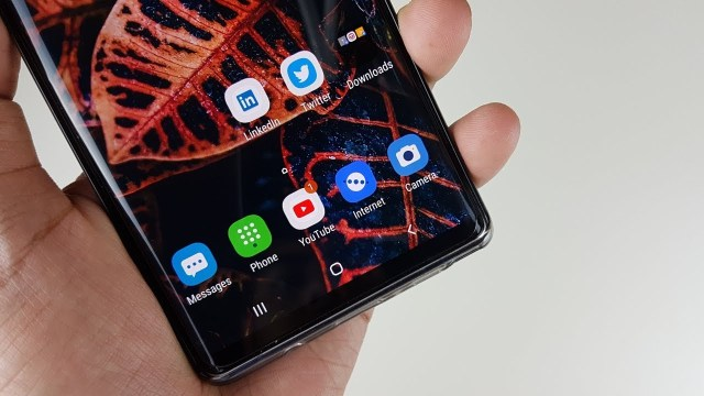 Samsung One UI Galaxy Note 8