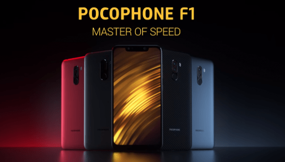 Xiaomi Pocophone F1 Android Pie