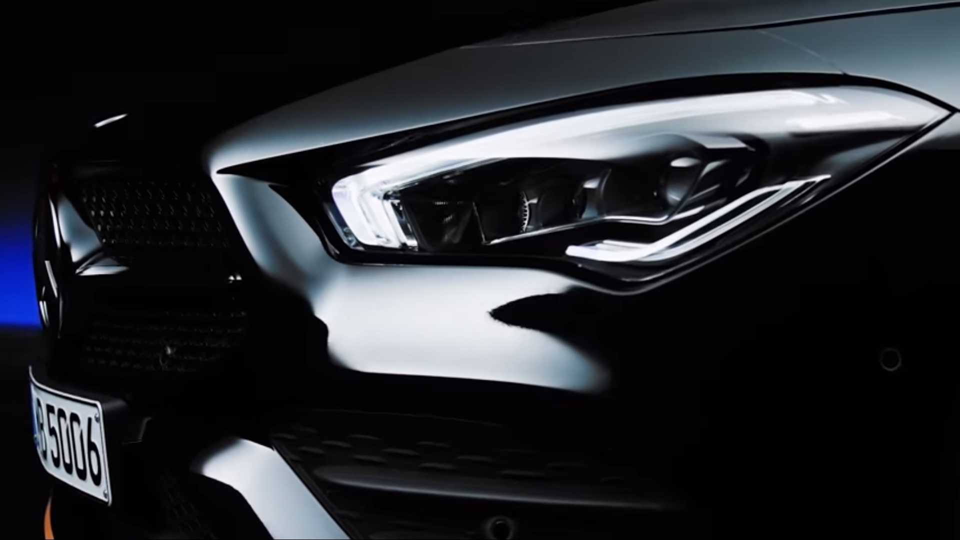 2020 Mercedes Benz CLA tanıtım videosu