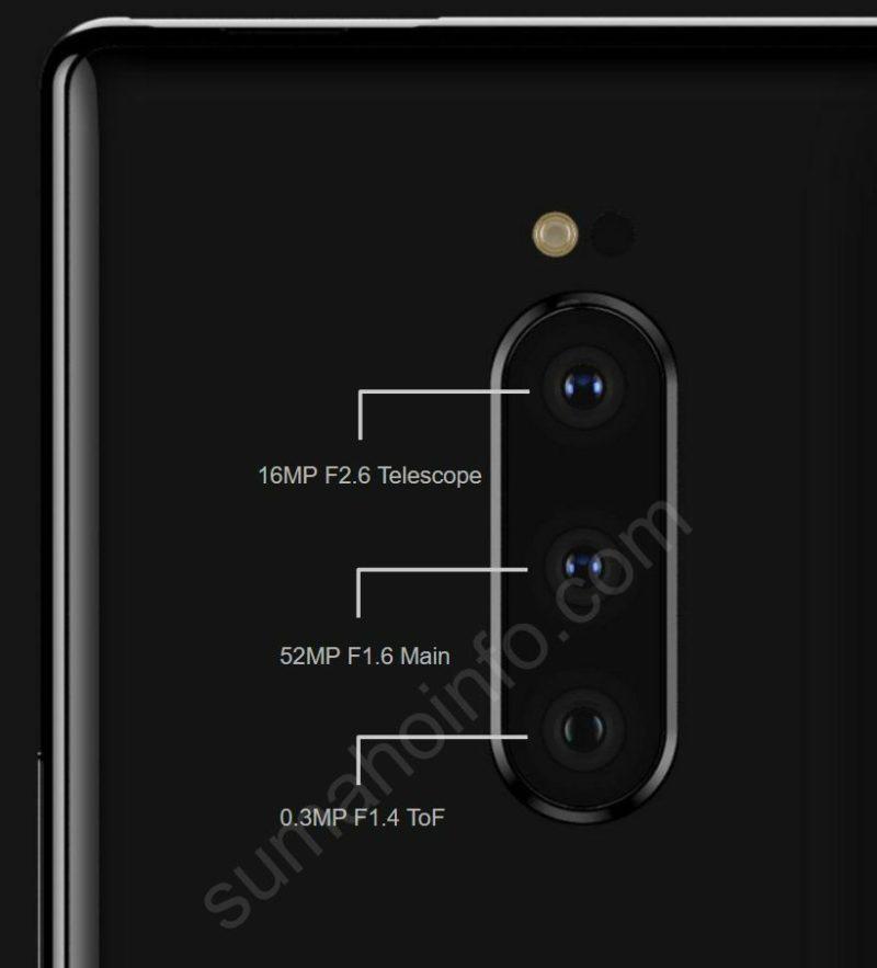 52 MP kameralı Sony Xperia XZ4 özellikleri