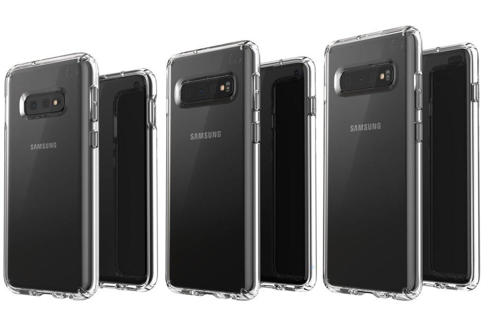 Samsung Galaxy S10 ailesinden yeni görüntüler! SDN-1