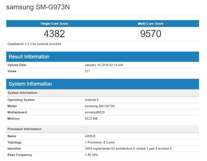 Exynos 9820'li Galaxy S10 performansıyla rakip tanımıyor!