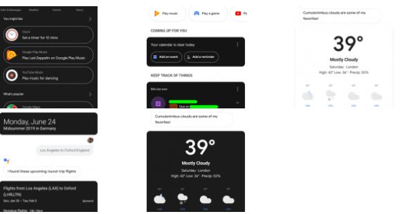Google Asistan Karanlık Mod