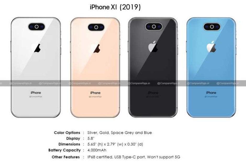 2019 iPhone XI özellikleri ve renk seçenekleri