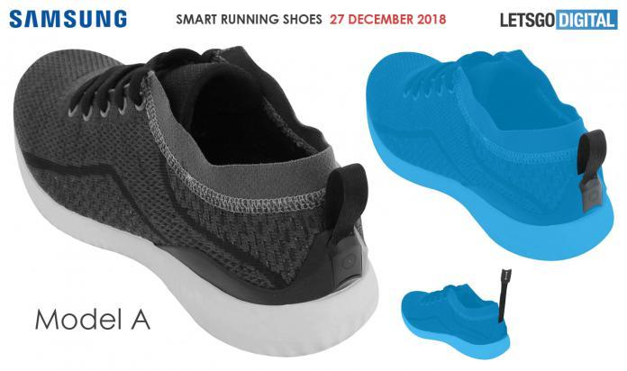 samsung, akıllı ayakkabı