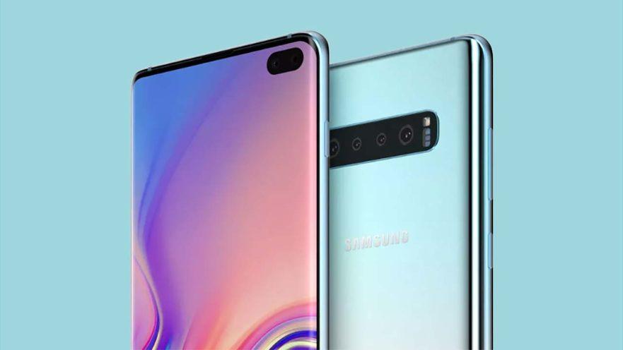 Samsung Galaxy S10 Plus tasarımı