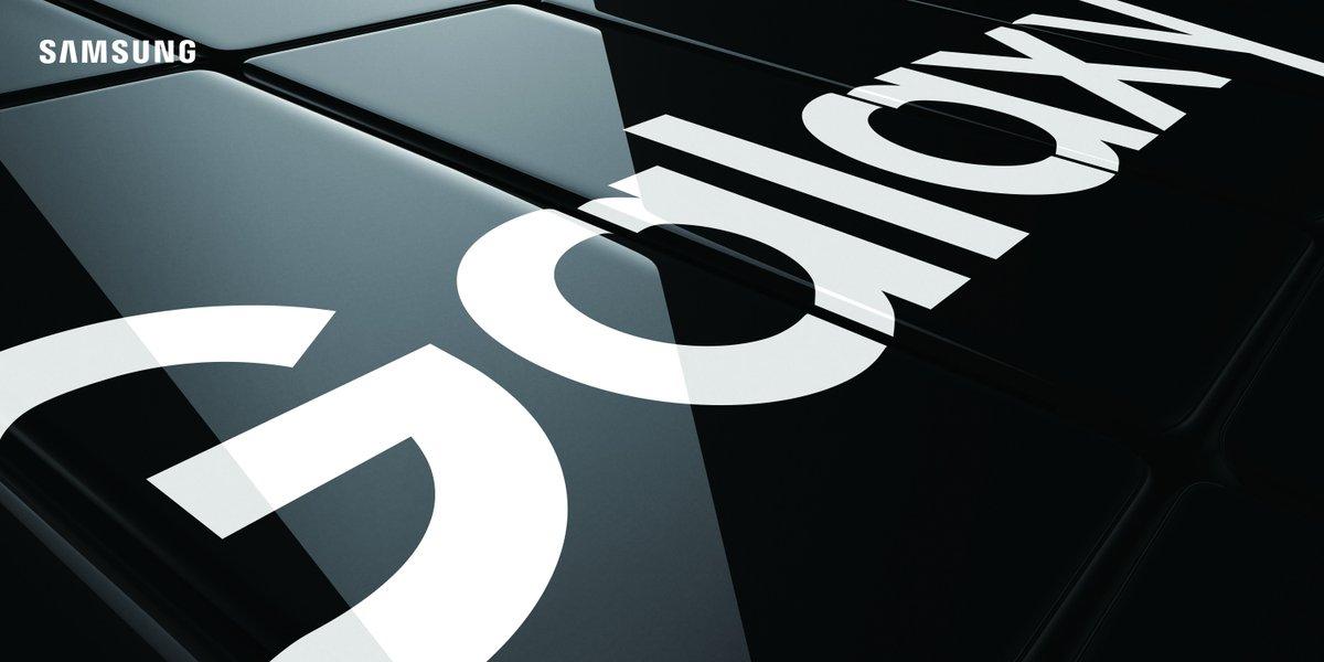 Samsung Galaxy S10 tanıtım görseli