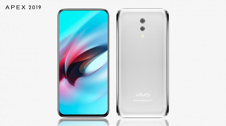 Vivo Apex 2019 tasarımı
