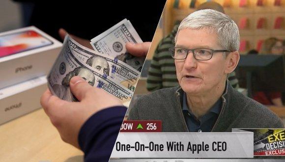 Tim Cook Apple iPhone satışları