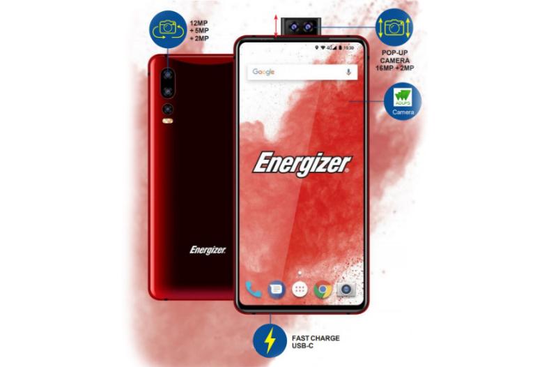 Energizer, 18000 mah bataryali akilli telefon