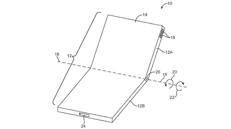 Apple katlanabilir telefon patentiile gündeme düştü! SDN-1