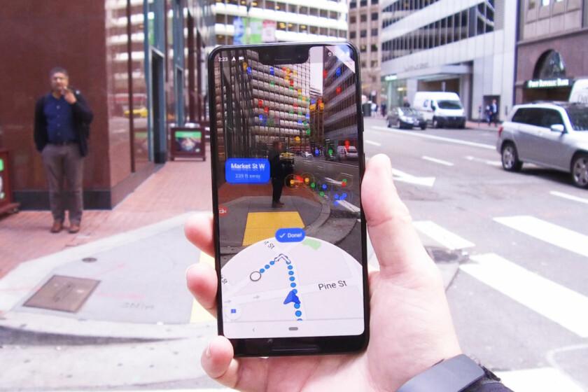 Google Maps AR navigasyon özelliği test aşamasında! SDN-2