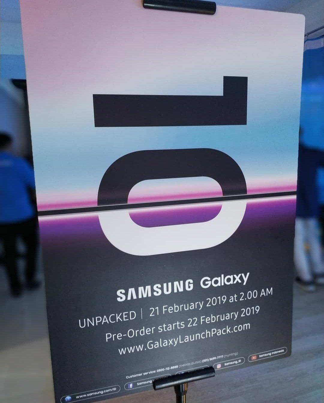 Samsung Galaxy S10 ön sipariş tarihi