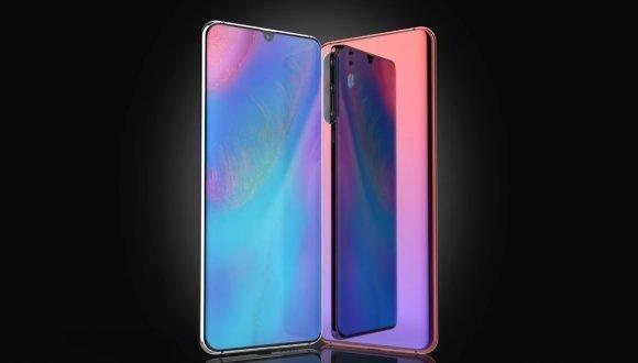 Huawei P30 ve P30 Pro ekran özellikleri