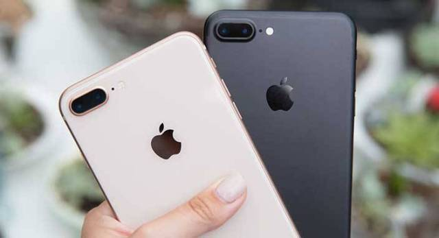 iPhone 7 ve iPhone 8
