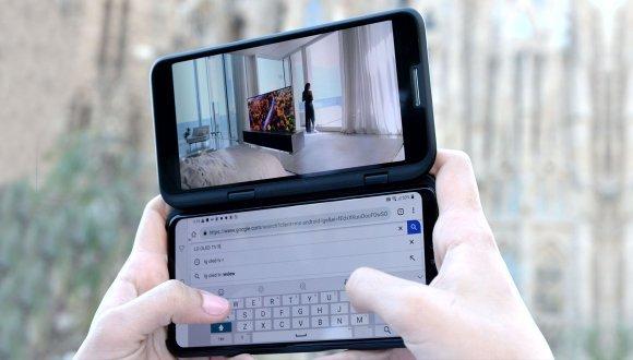 LG V50 ThinQ 5G ön inceleme / ekranı çıkartılabilen LG V50 ThinQ 5G özellikleri