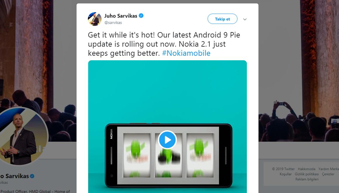 Nokia 2.1 Android Pie