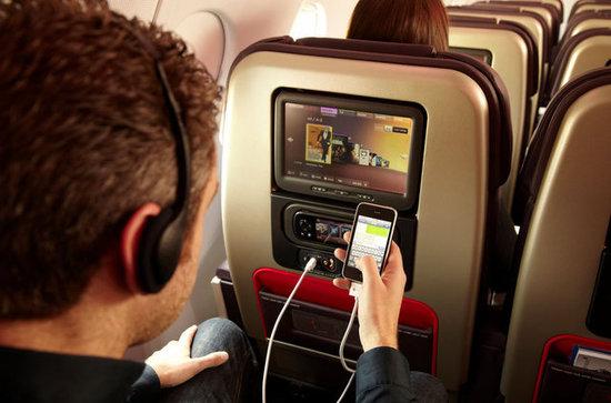Uçakta telefon kullanan para cezası