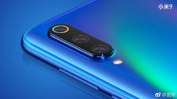 Xiaomi Mi 9 tasarımı