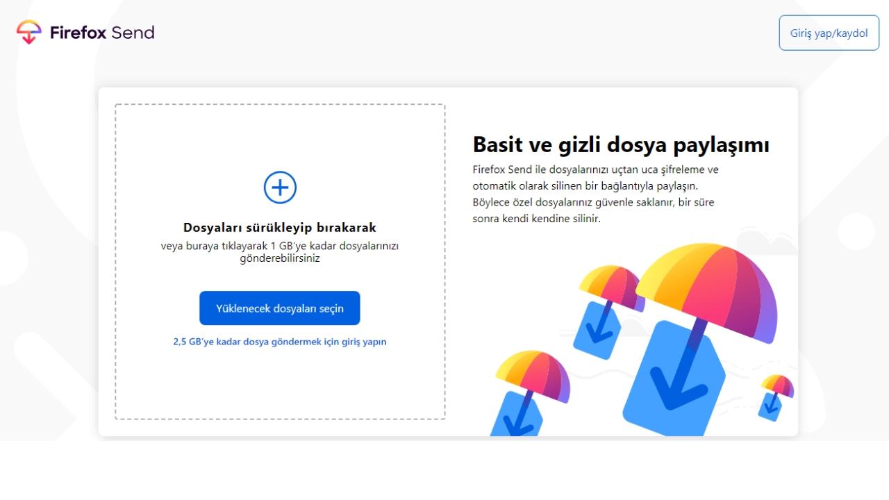 Mozilla Firefox Send ile dosya aktarım dönemi başladı! - ShiftDelete.Net1