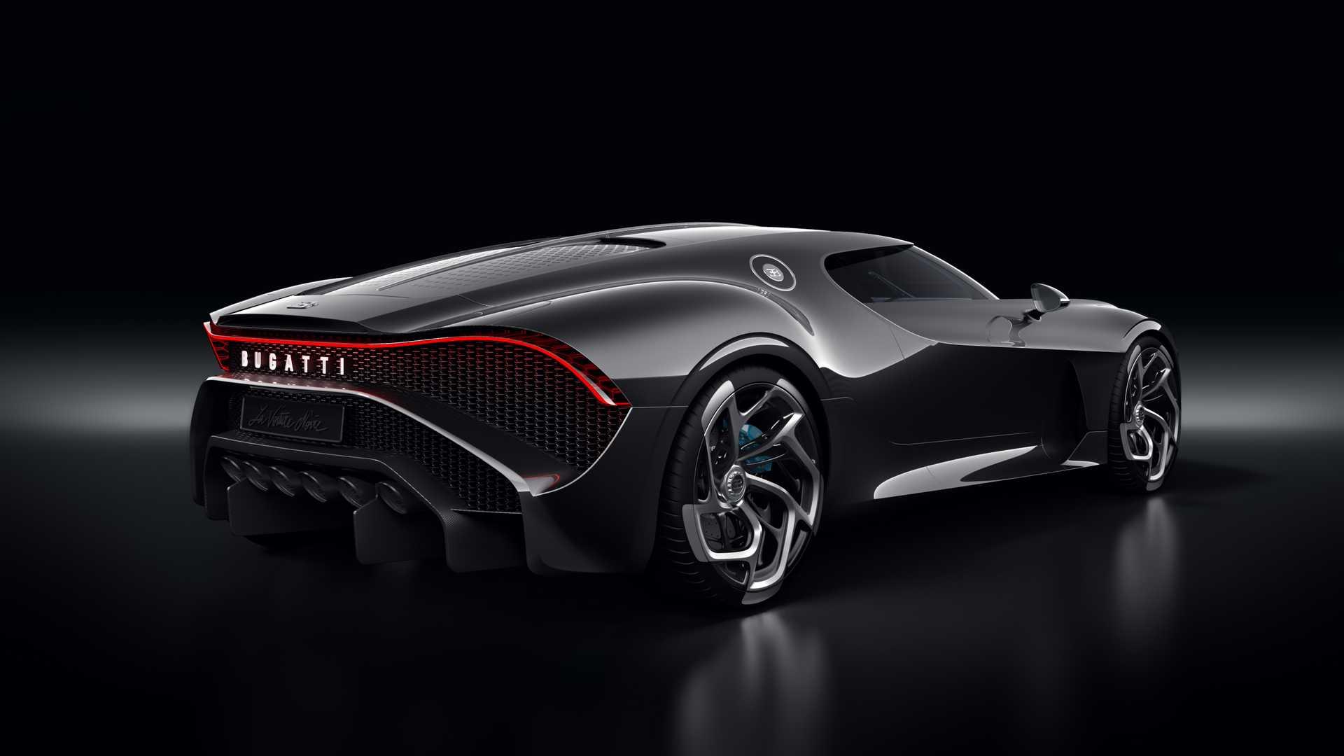 D 252 Nyanın En Pahalı Bugatti La Voiture Noire Tanıtıldı