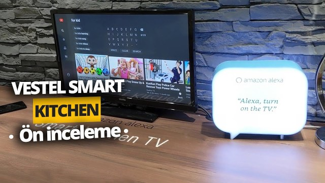 Vestel Smart Kitchen TV