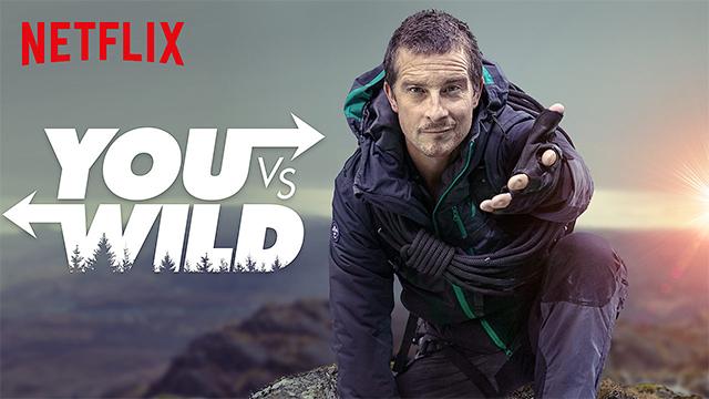 Netflix'in yeni interaktif dizisi: Bear Grylls ile You vs.Wild