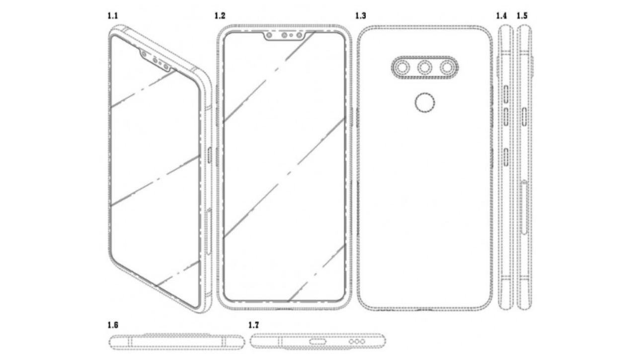 LG üç ön kameralı telefon patenti aldı! - ShiftDelete.Net