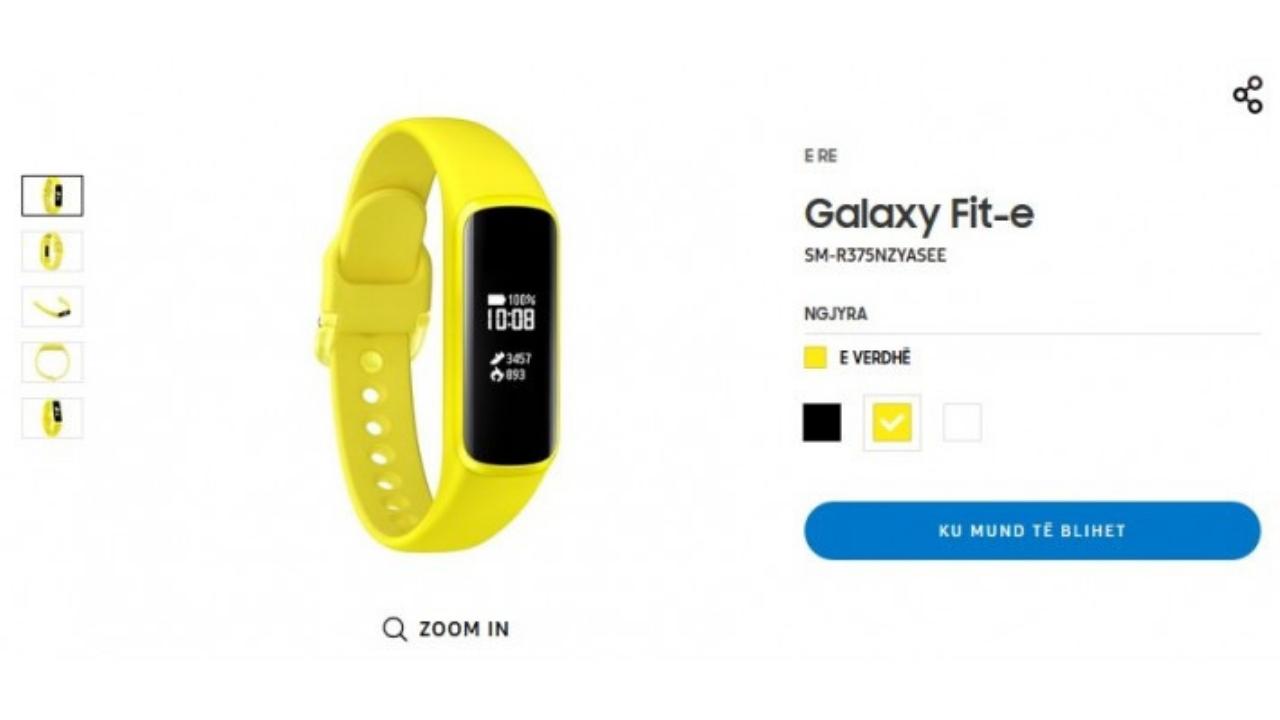 Samsung Galaxy Fit e resmi web sitesinde görüntülendi! - ShiftDelete.Net