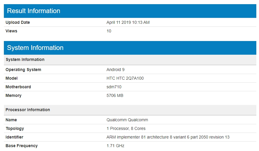 HTC orta seviye telefonu ortaya çıktı!